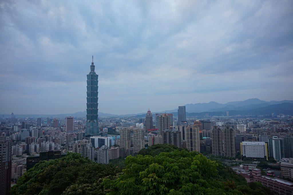 Taiwan, najvyššia budova 101